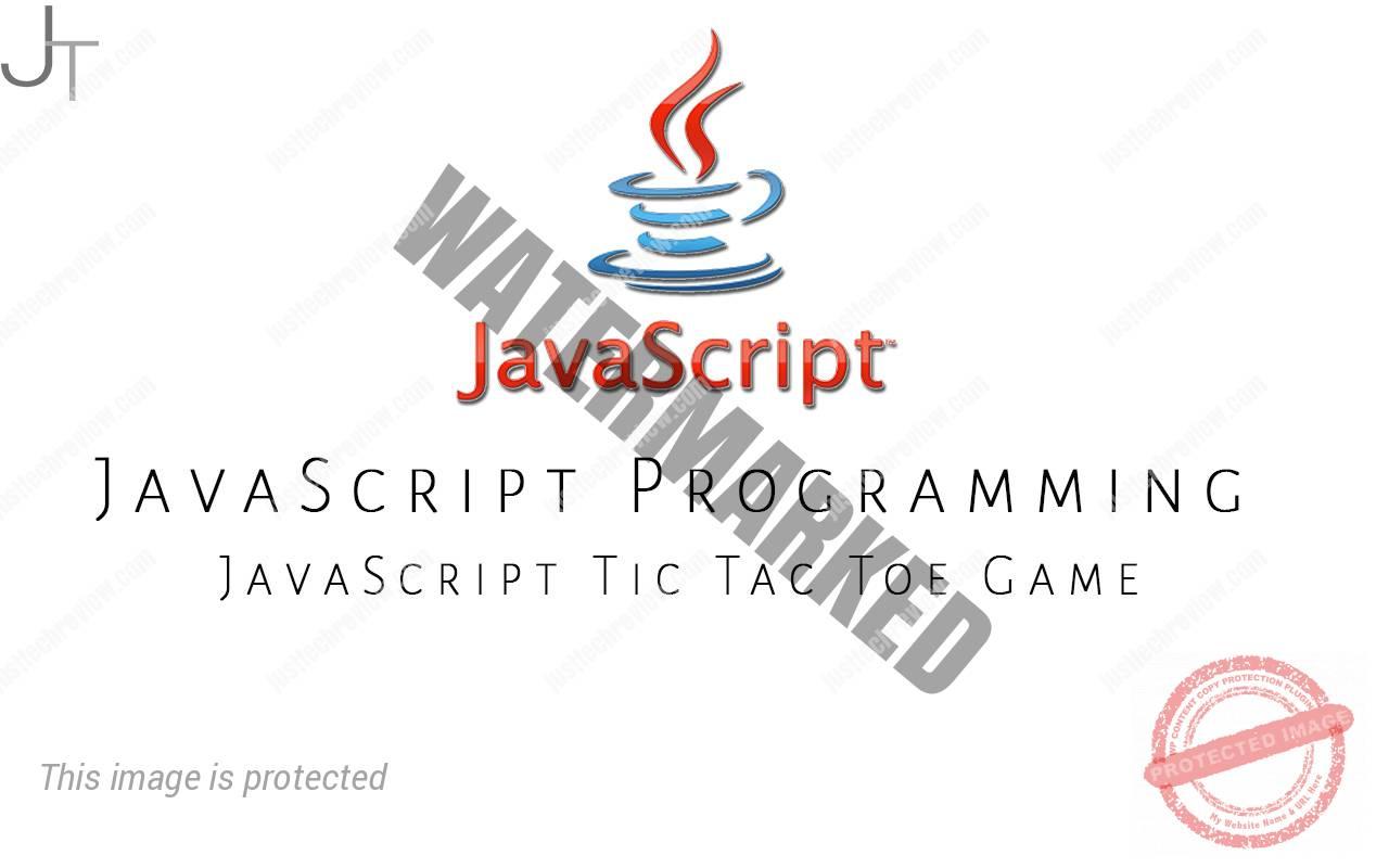 JavaScript Tic Tac Toe Game