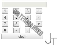 JavaScript Calculator Example