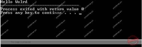 First C++ Program – Hello World