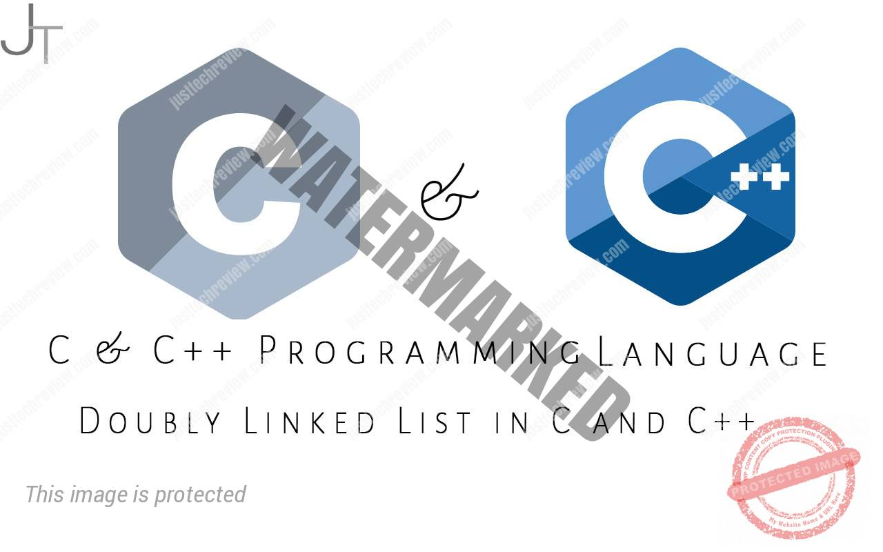 Doubly Linked List in C and C++