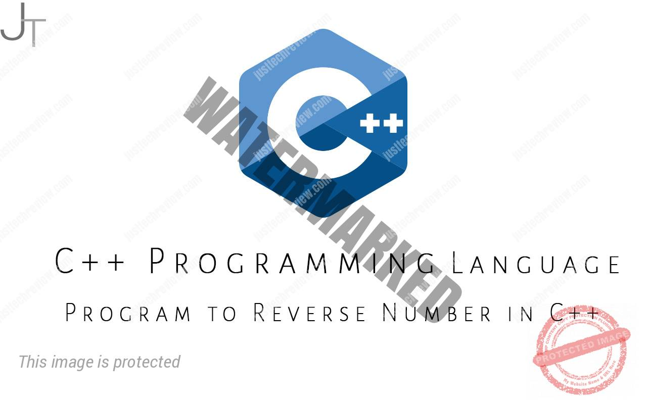 Program to Reverse Number in C++