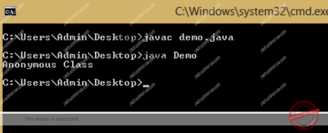 Anonymous Class in Java