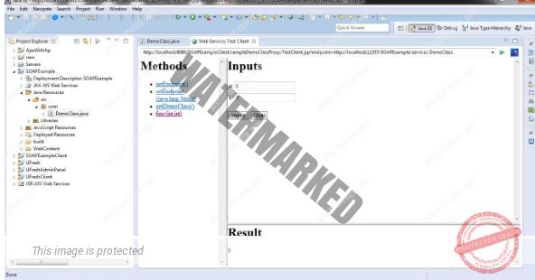 Create Java SOAP Web Service Using Eclipse
