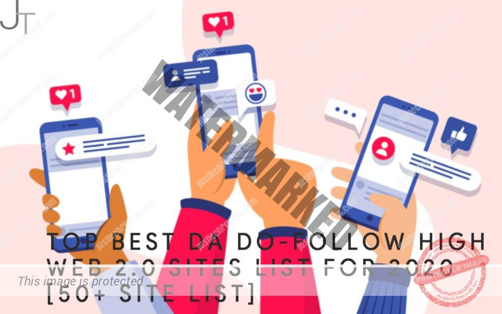 BEST DA DO-FOLLOW HIGH WEB 2.0 SITES LIST FOR 2020 [50+ SITE LIST]