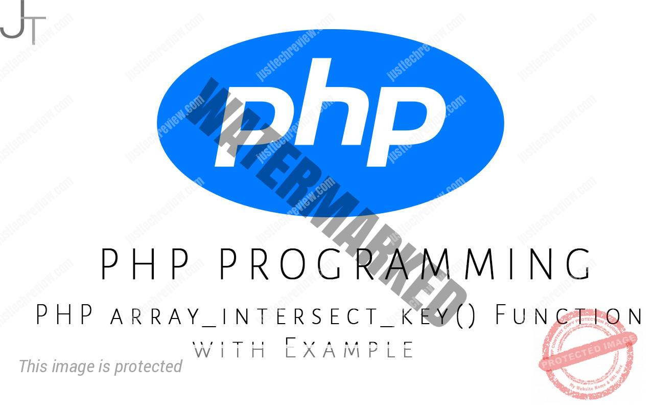PHP array_intersect_key() Function with Example