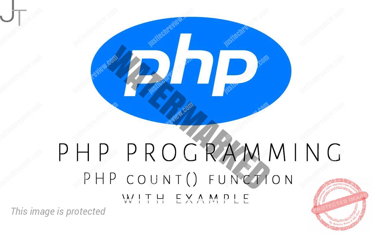 PHP count() function with example