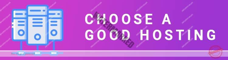 Choose a Good Hosting For Your Blog