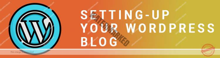 Setting-up your WordPress blog