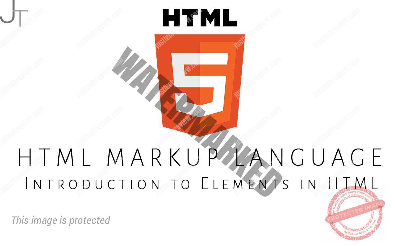 Introduction to Elements in HTML