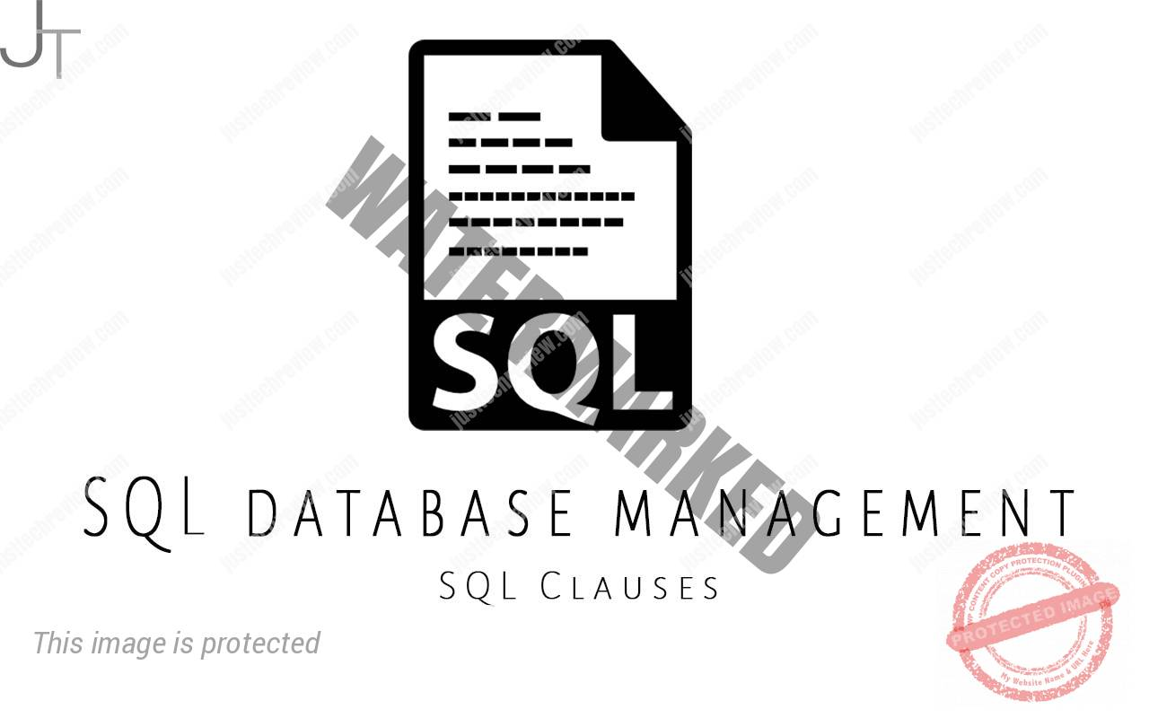 SQL Clauses