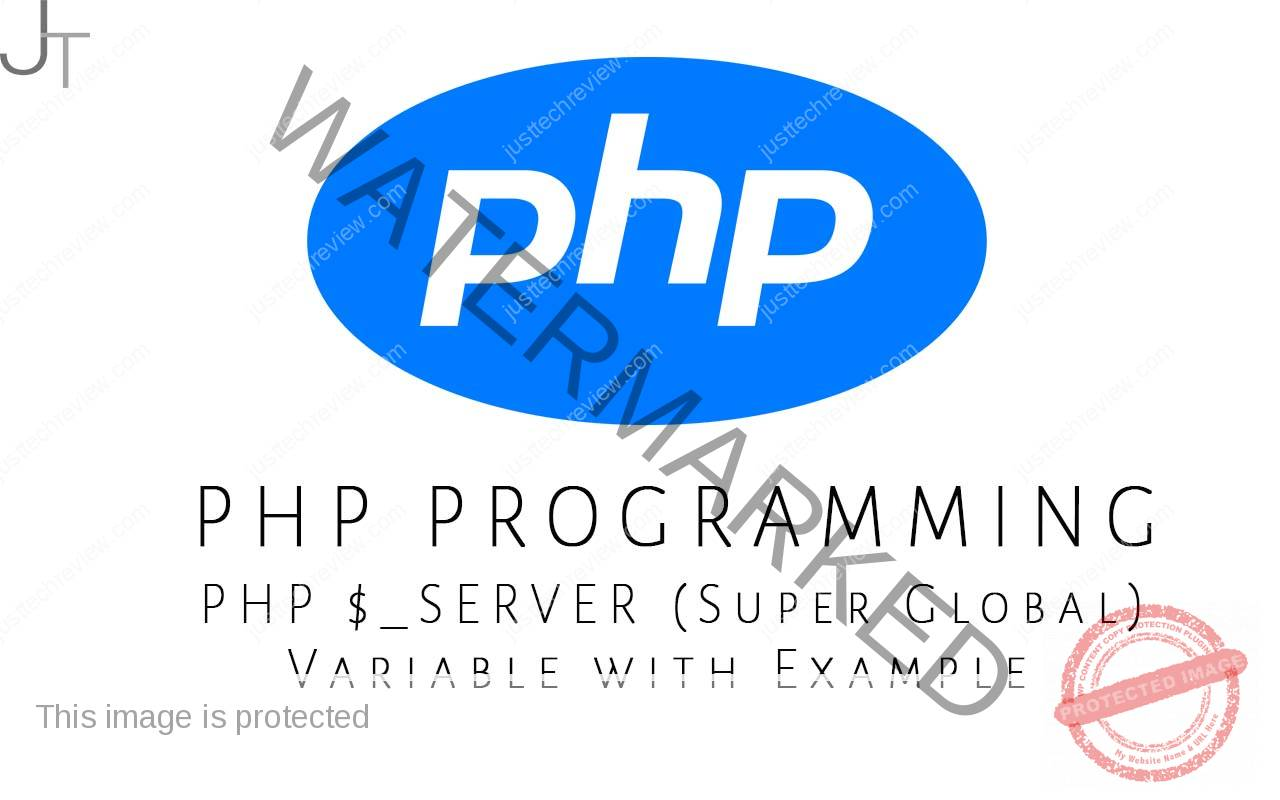 PHP $_SERVER (Super Global) Variable with Example